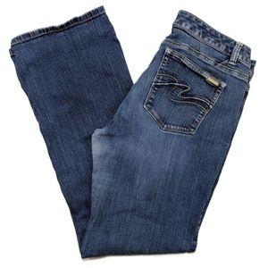 White House Black Market Contour Boot Leg Jeans